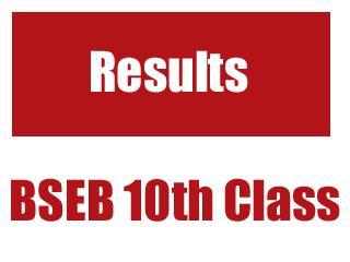 Bihar Board Class 10th Results 2015