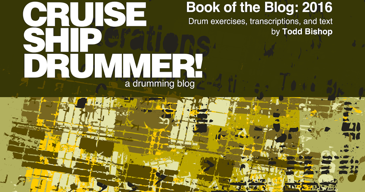 2016 Book Of Blog Now Available For on elvin jones transcriptions