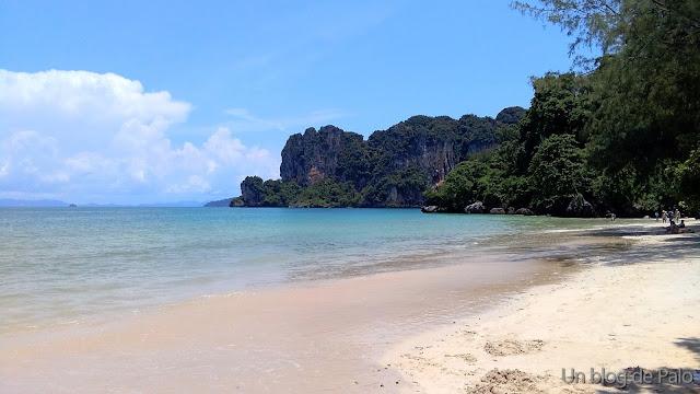 Playa del oeste en Railay Ao Nang