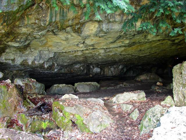Самые высокие горы. Седам-Кая. Вход в пещеру Данильча-Коба