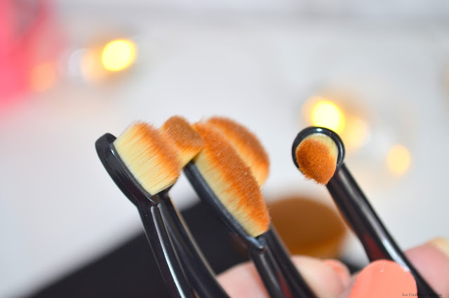 pinceaux brosses, brosses pour le teint, brosses pour le maquillage, mon avis sur les brosses pour le maquillage