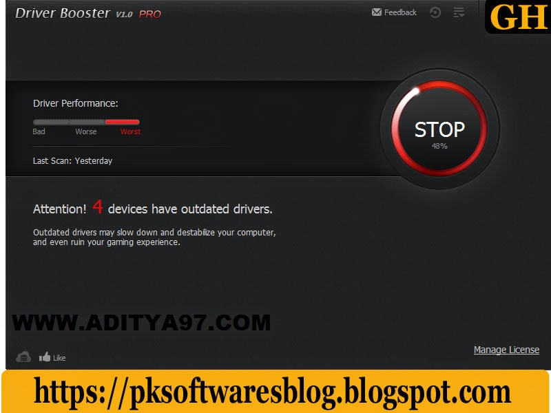 Driver Booster Pro Free Download Archives