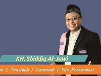 Download Kajian KH. Shiddiq Al-Jawi