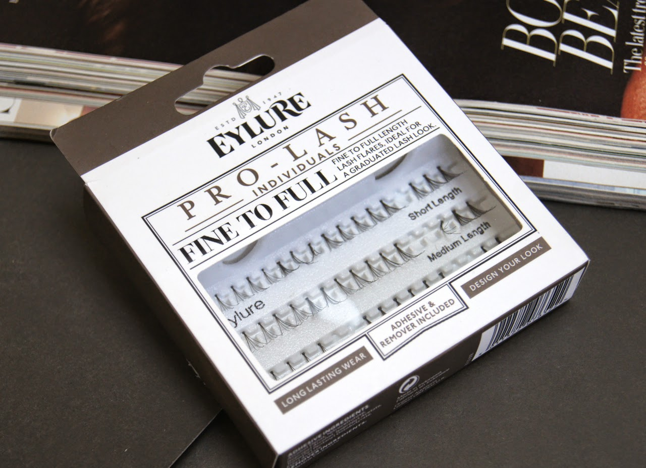 eylure pro lash fine to full individual lashes review