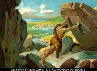 mito de hercules heracles los establos de augias