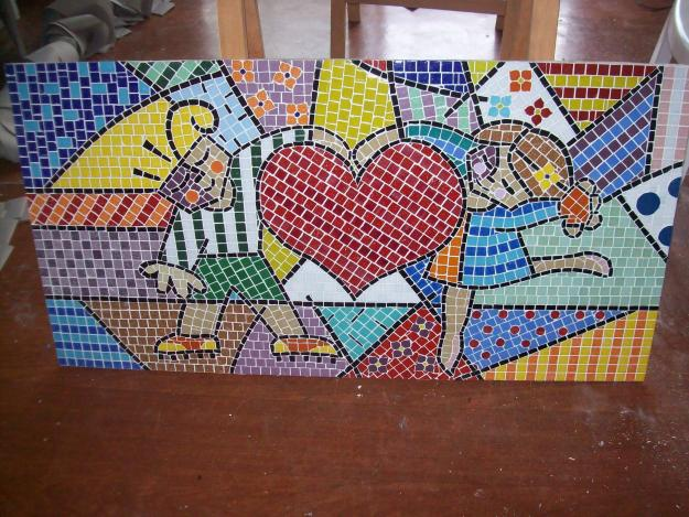 1000 images about mosaico on pinterest for Casas con mosaicos
