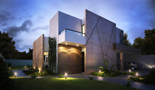 Koleksi Rumah Minimalis Mewah 2 Lantai