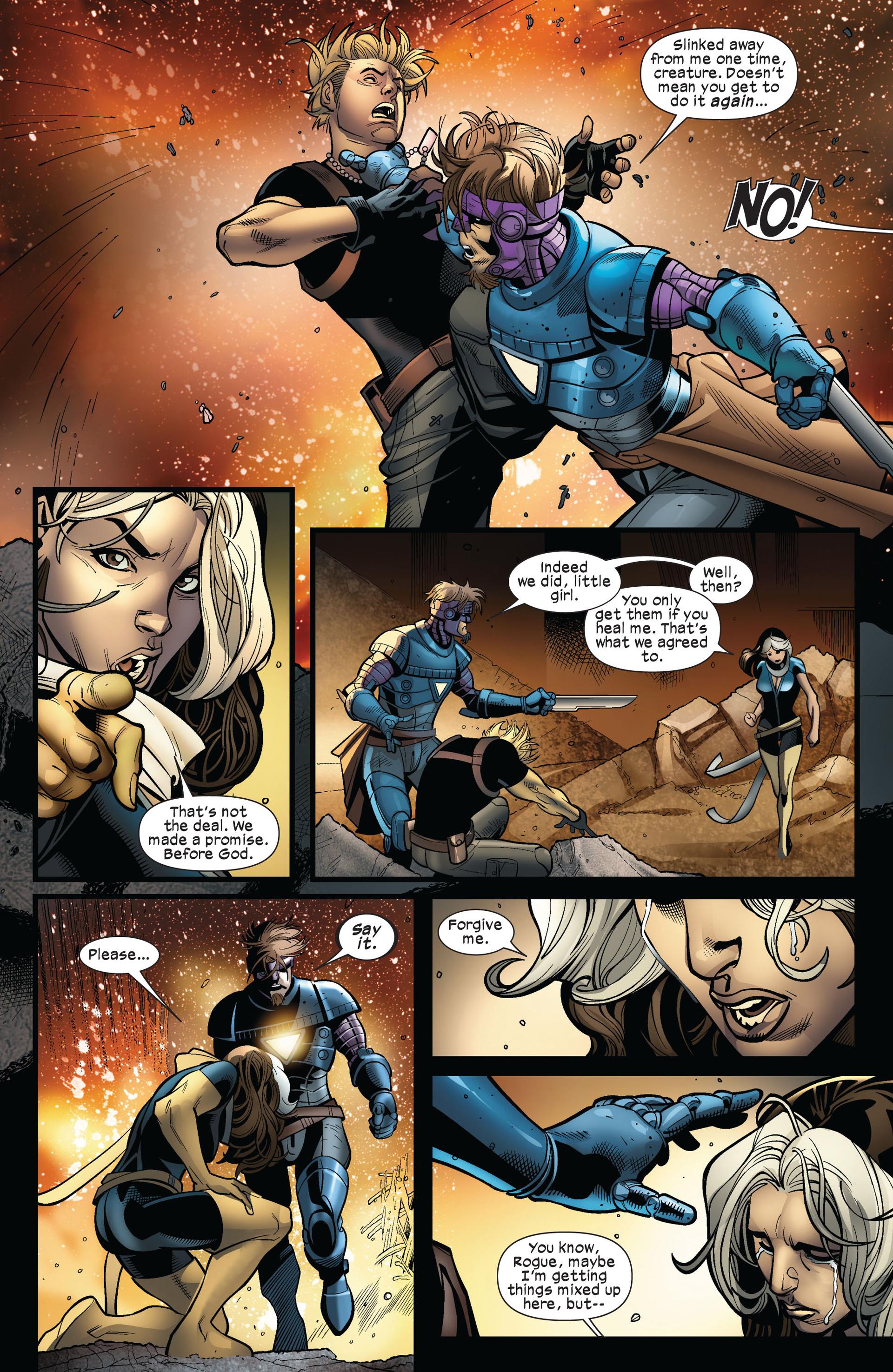 Read online Ultimate Comics X-Men comic -  Issue #5 - 17