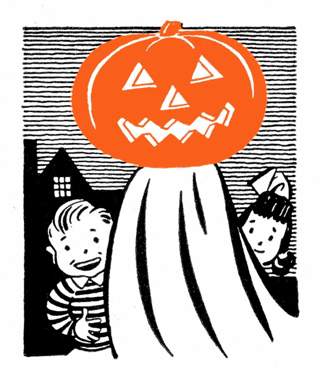 Cartoon Concept Design: HAPPY HALLOWEEN-Vintage Halloween ...