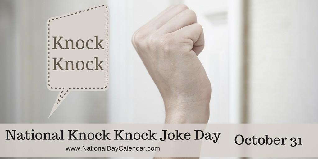 Joke Day Knock Knock