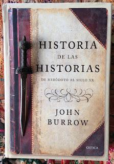 Portada del libro Historia de las historias, de John Burrow