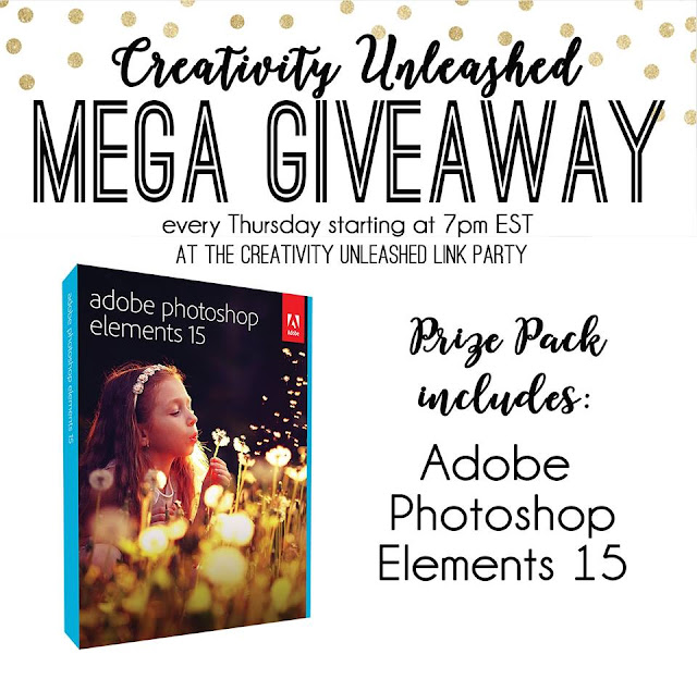 Adobe Photoshop Elements 15 Giveaway and Creativity Unleashed #171