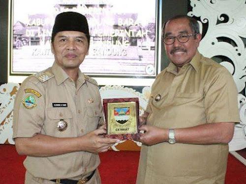Pemkab KBB ke Kabupaten Bandung