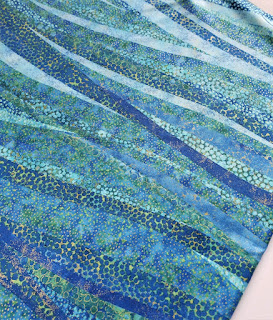 Northcott Artisan Spirit Shimmer Blue Lagoon