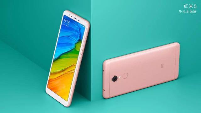 Spesifikasi dan harga Xiaomi Redmi 5 di Indonesia Terbaru 2018