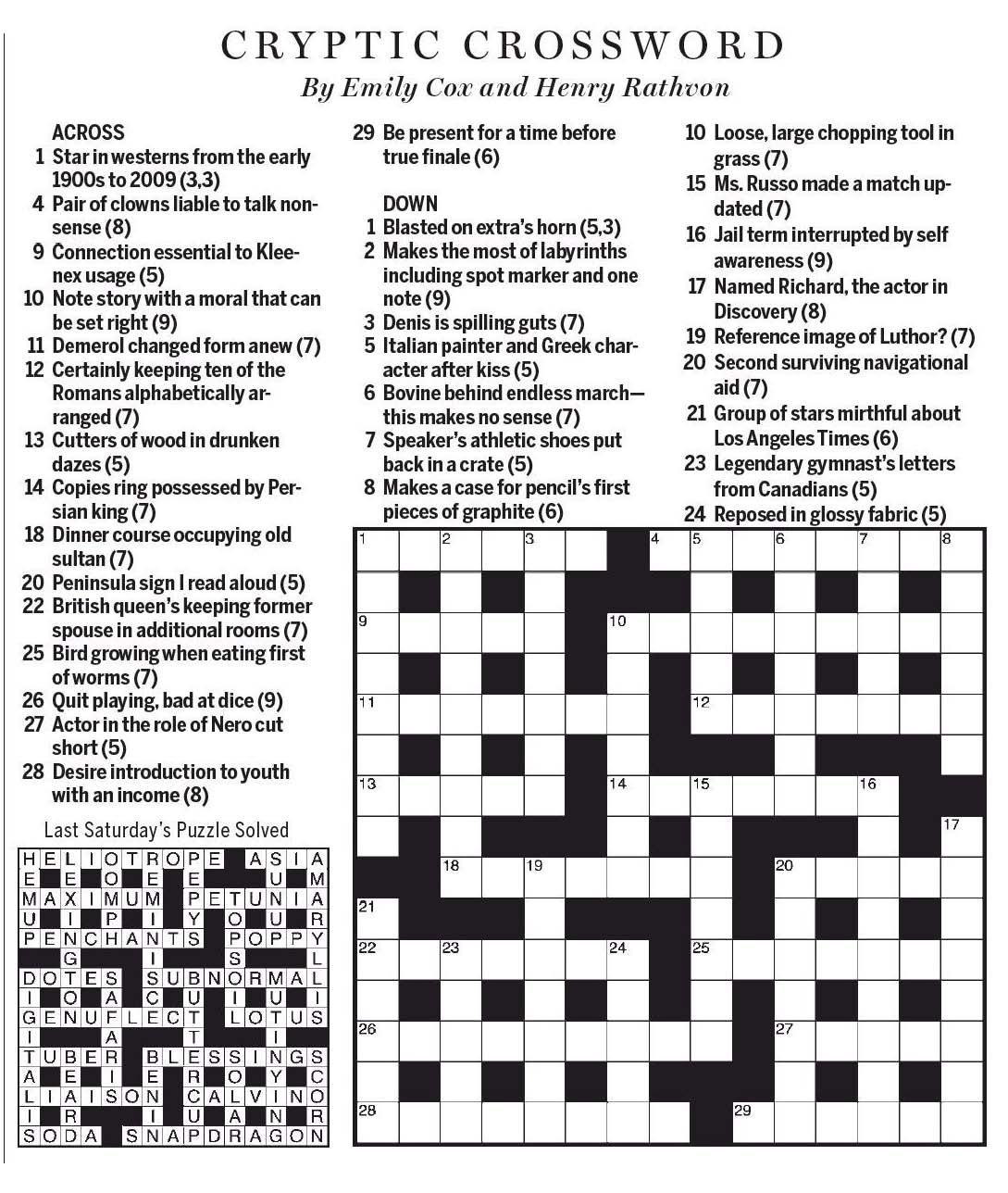 Introduction  sc 1 st  National Post Cryptic Crossword Forum & National Post Cryptic Crossword Forum: Saturday March 11 2017 ... 25forcollege.com