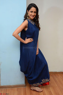 Pragya Jaiswal in beautiful Blue Gown Spicy Latest Pics February 2017 003.JPG