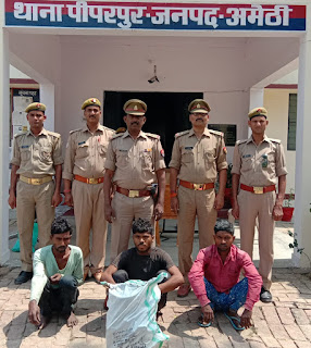 Police Successfully Caught Thief With Evidences In Uttar Pradesh