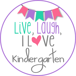 Live, Laugh, I Love Kindergarten