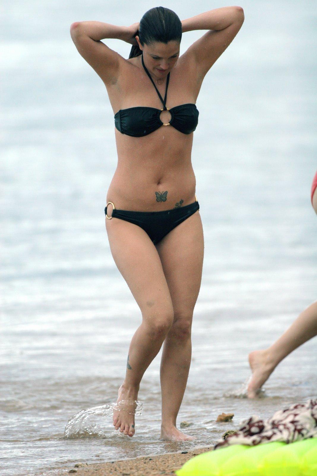 Usete Drew Barrymore Hot Bikini wallpapers 521-3128