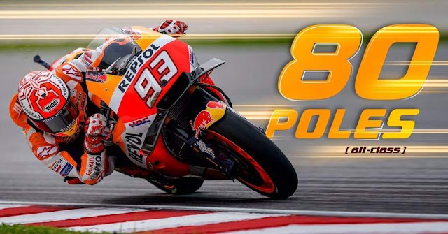 Marc Marquez Pole Position MalaysianGP 2018