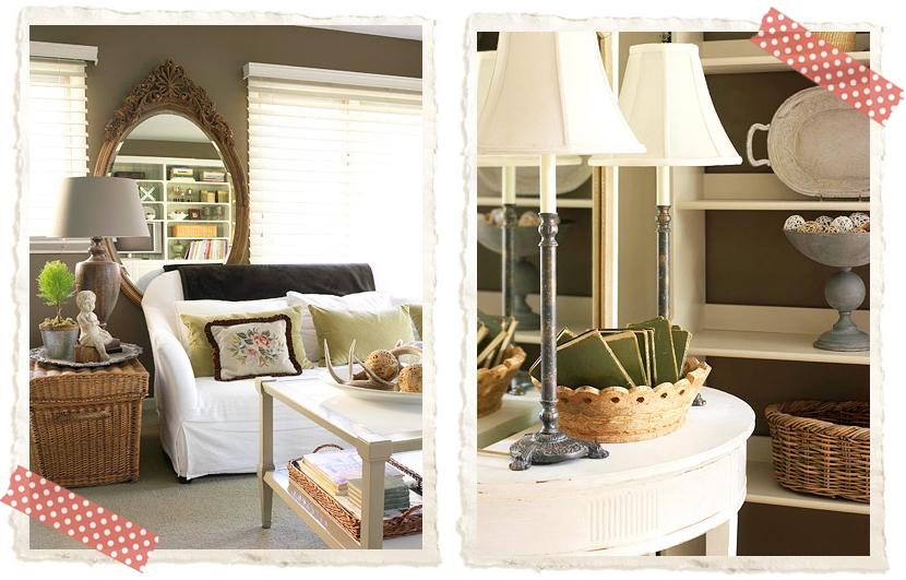 I colori delle pareti shabby chic interiors - Colori delle pareti di casa ...
