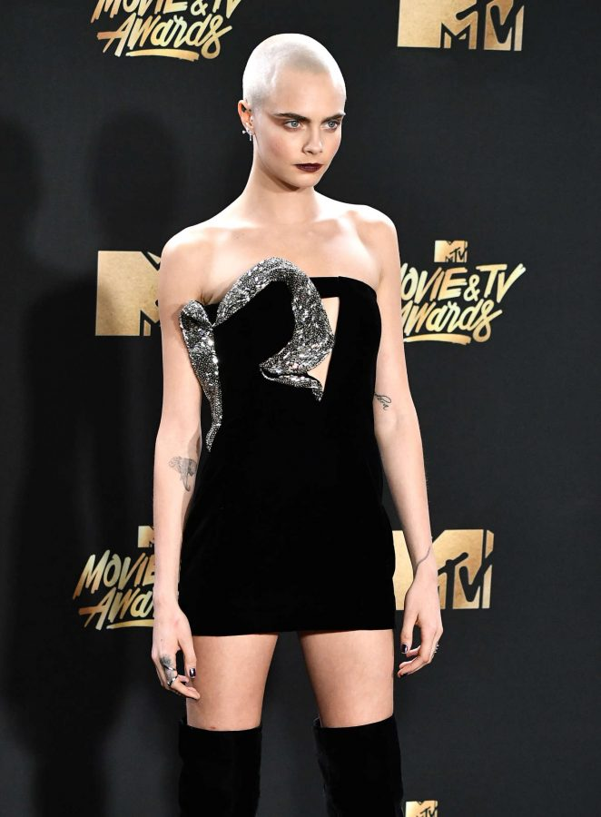 Cara Delevingne – 2017 MTV Movie And TV Awards in Los Angeles
