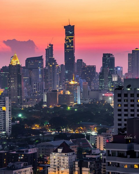 bangkok view. foto by @oatoasta