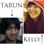 Tarun Shanker and Kelly Zekas