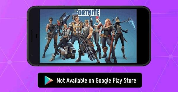 تقرير Fortnite لن تكون متاحة على متجر Google Play