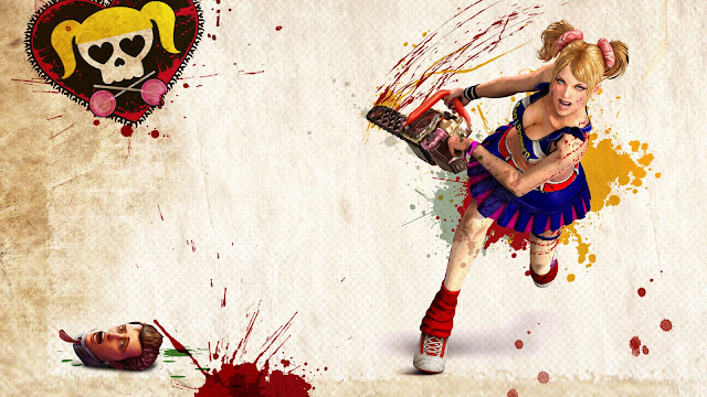 cheerleader zombie hunter desktop wallpaper