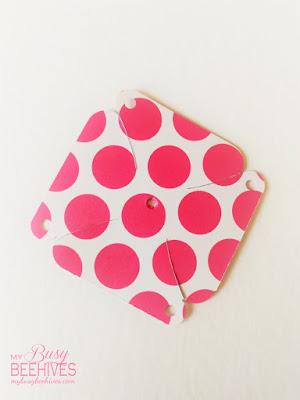 pink polka-dot pinwheel