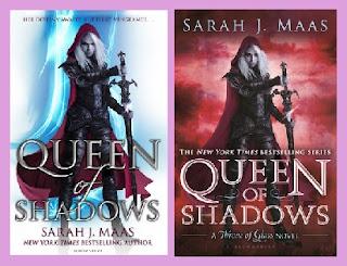 Portadas del libro Reina de sombras, de Sarah J. Maas