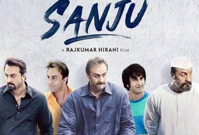 Sanju - 10 best bollywood hindi movies of 2018