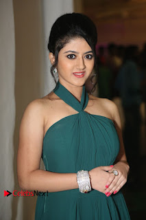 Actress Shriya Sharma Pictures in Long Dress at Nirmala Convent Audio Launch 0012
