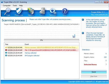 Free Download GridinSoft Trojan Killer 2.1.3.1 With Crack And Keygen