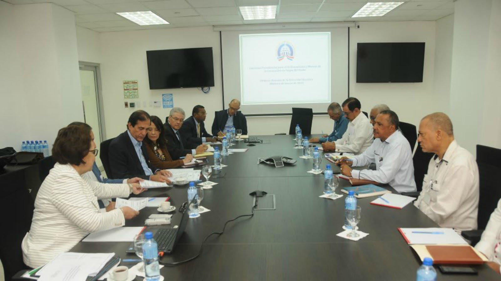 Comisión Presidencial Cuenca Yaque del Norte acuerda metodología para Plan Estratégico
