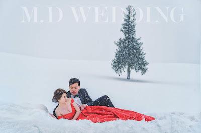 北海道雪國婚紗