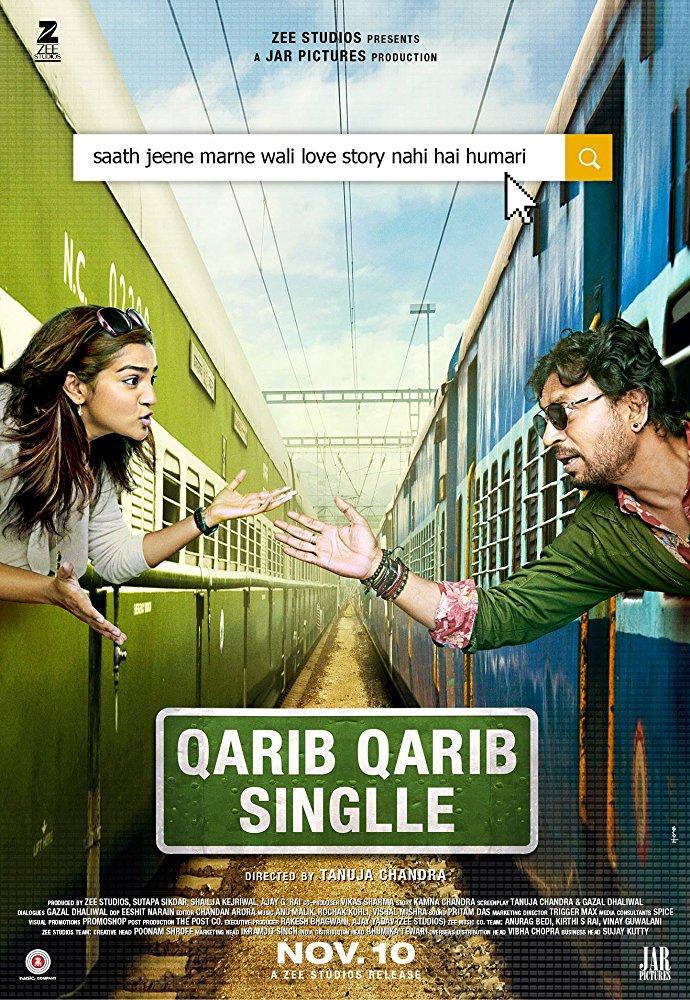 Qarib Qarib Single 2017 TV RIP Hindi GOPISAHI