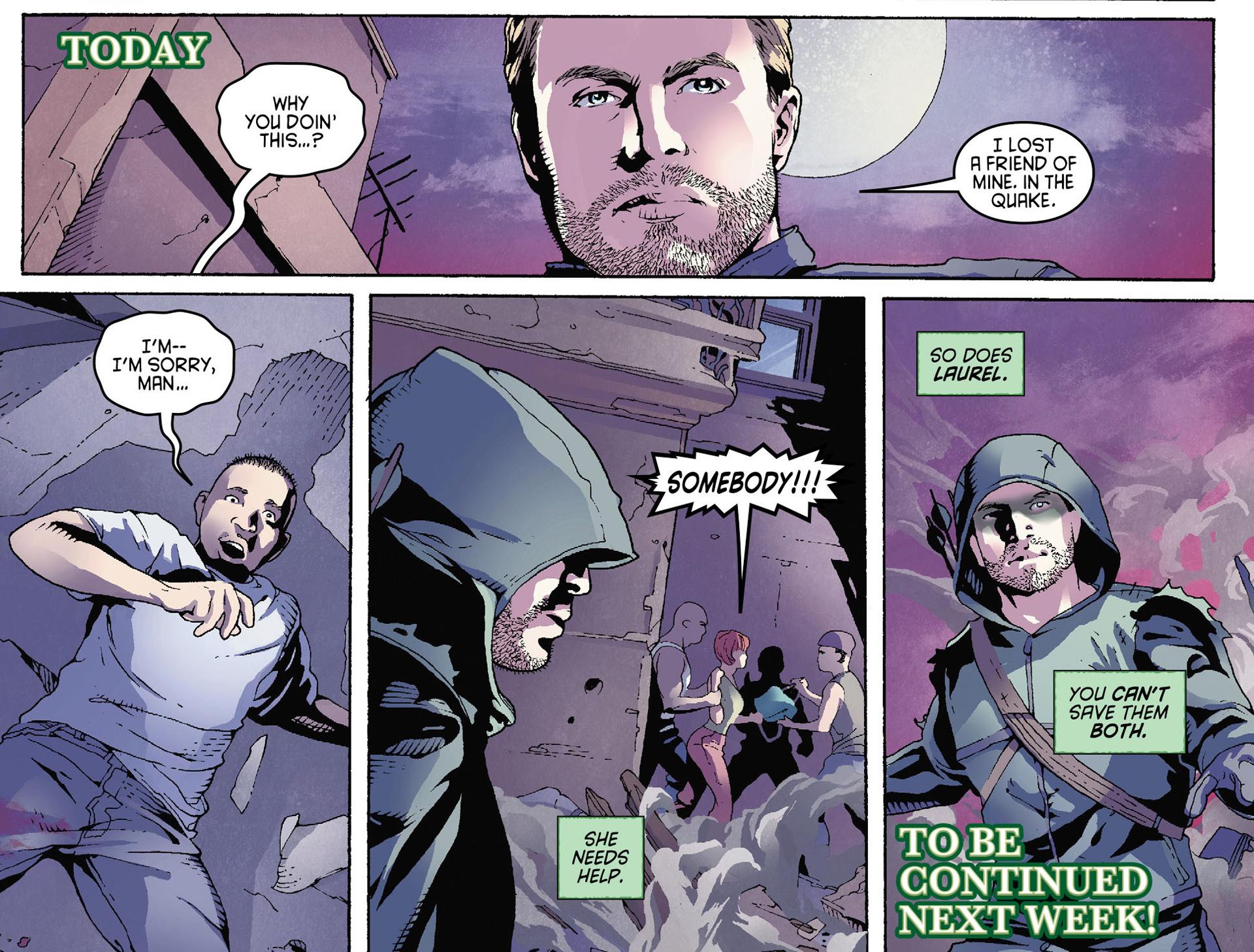 Read online Arrow [II] comic -  Issue #35 - 22