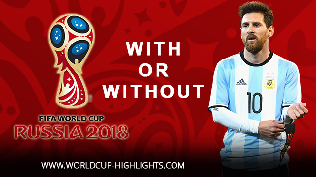 Video Footage of World Cup 2018 Qualifying Matches