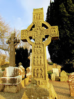 The High Crosses or Celtic Crosses in Ireland