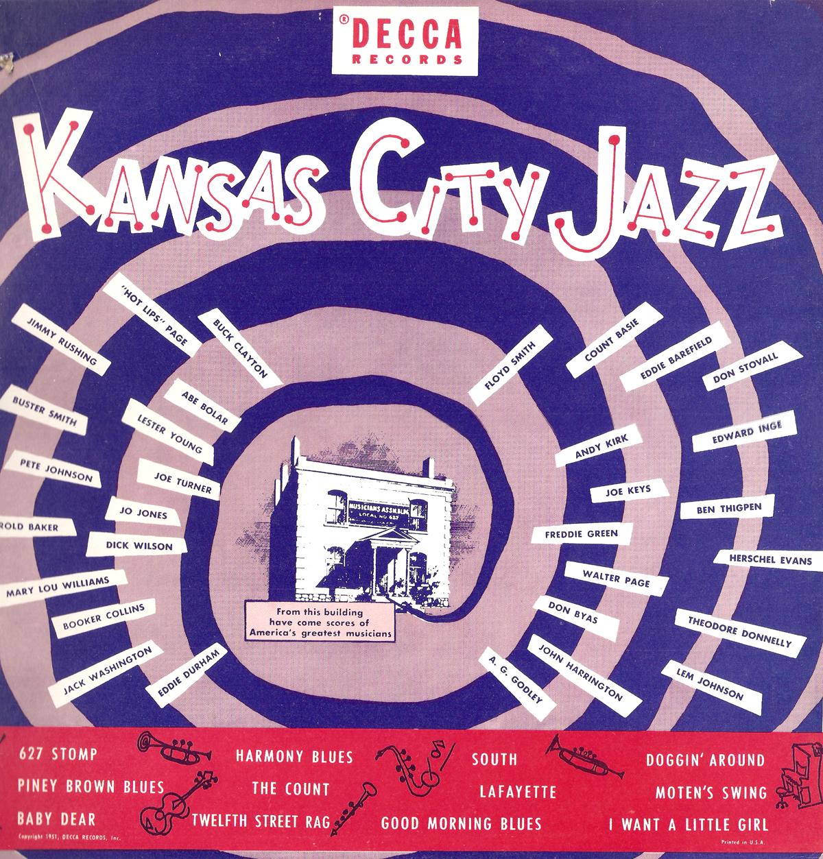 Gems Of Jazz Goin To Kansas City