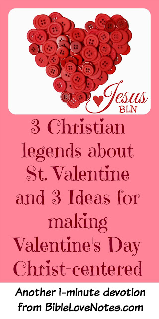 Origin of Valentine's Day and Ways to Make it Christ-centered