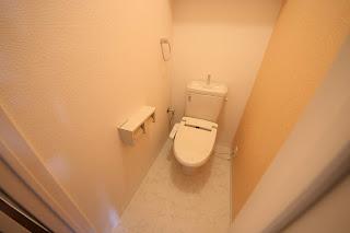 徳島市 二軒屋 オートロック 1LDK 居室 トイレ