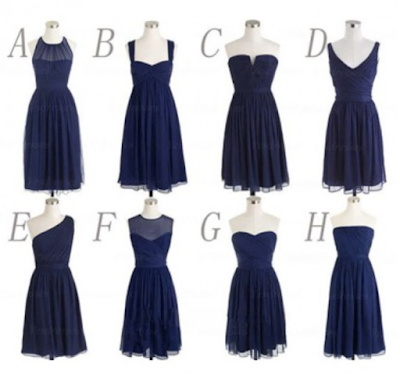 A-line Scoop Short/Mini Chiffon 2016 Bridesmaid Dresses Short