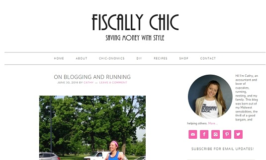 new fiscally chic blog