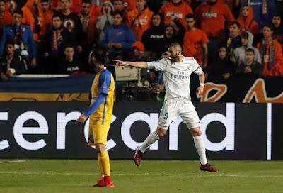 Karim Benzema sexto maximo goleador de la Copa de Europa