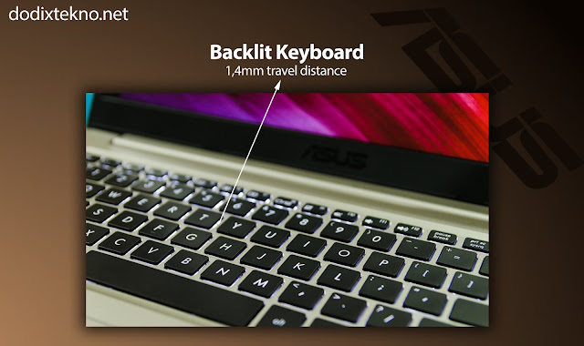 Backlit Keyboard Asus VivoBook S15 S510UQ