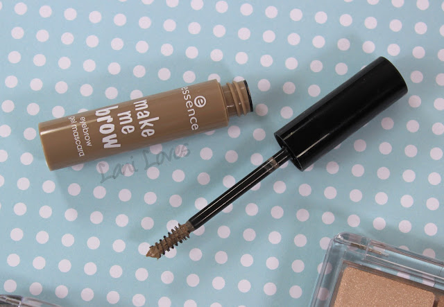 Essence Make Me Brow Blondy Brows swatches & review